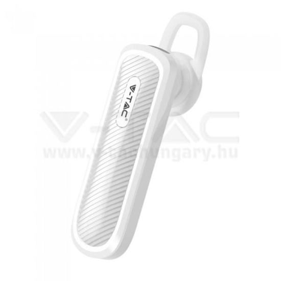 Picture of BLUETOOTH-OS HEADSET 70MAH FEHÉR