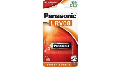 Picture of Panasonic LRV08L/1BP 12V alkáli elem (1db / bliszter)