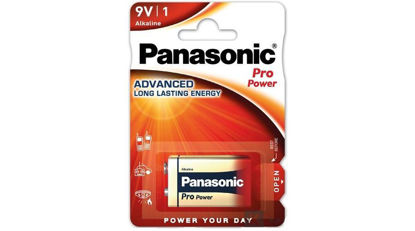Picture of Panasonic Pro Power 6LR61PPG/1BP 9V blokk szupertartós alkáli elem