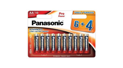 Picture of Panasonic Pro Power AA alkáli elem 10db/bliszter
